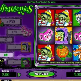 Halloweenies Mobile Scratch Card
